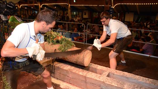 Größter & attraktivster Holzsägewettbewerb