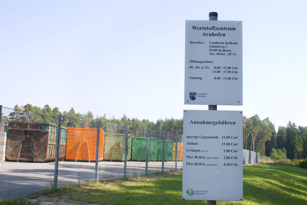 öffnungszeiten Wertstoffhof Kelheim