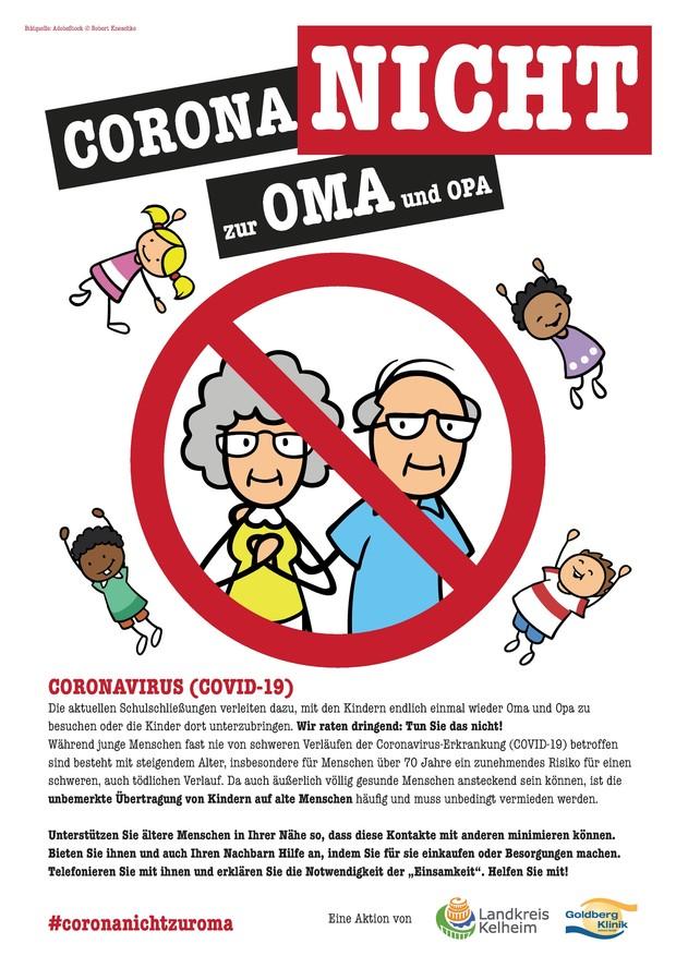 Corona nicht zur Oma